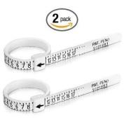 Multisizer Economical Ring Sizer Gauge - Set of Two