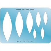 Cool Tools - Jewellery Shape Template - Pods