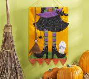 Bucilla Witch Felt Applique Wall Hanging Kit, 86693 38cm by 60cm