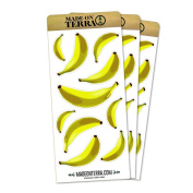 Banana Bonanza Removable Matte Sticker Sheets Set
