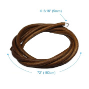 180cm 0.5cm Leather Belt Treadle Parts with Hook for Singer/Jones Sewing Machine