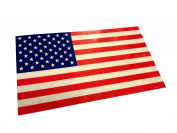 Large 18cm x 10cm Reflective Colour Us Made 3m American Us Patriotic Flag Sticker Durable USA Decal