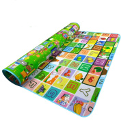 MaBoShi 71*150cm Extra Large Two-sided Baby Crawling Mat,0.5cm Thick