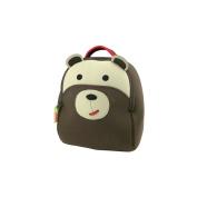 Dabbawalla Bags Preschool & Toddler Bear Backpack, Brown
