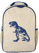 SoYoung Toddler Backpack, Blue Dinosaur