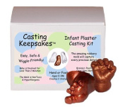 Luna Bean Infant Plaster Statue Casting Keepsake Kit - Cast Baby Hand & Foot