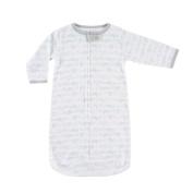 Hudson Baby Cotton Sleeping Sack, Blue Aeroplanes, 0-9 Months