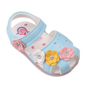 Voberry® Toddler Baby Kid Girls' Prewalker Soft-Soled Princess Sandals