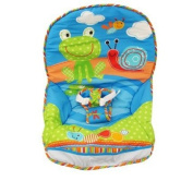 Fisher-Price Infant to Toddler Rocker - Frog/Snail Print - Replacement Pad