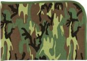 2450 Infant Woodland Camo Reveiving Blanket
