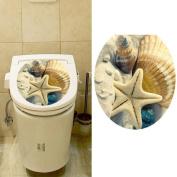 Hatop Toilet Seat Wall Sticker Decals Vinyl Art Wallpaper Removable Decor