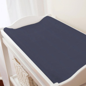 Carousel Designs Solid Navy Changing Pad Cover Contoured Style