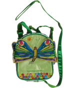 "The World of Eric Carle ""Double Pocket"" 2-in-1 Backpack Harness - lime, one size"