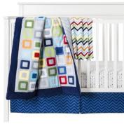 Circo® Geo Boy 4pc Crib Bedding Set