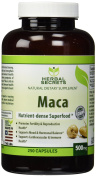 Herbal Secrets Maca 500 Mg 250 Caps - Supports Reproductive Health - Energising Herb*