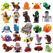 Joyin Toy 24 Pieces Assorted Wind-up Toys for Kids Party Favours