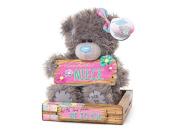 "Me to You SG01W4096 15cm Tatty Teddy Holding a ""Wonderful Niece"" Wooden Sign Bear Sits Plush Toy"