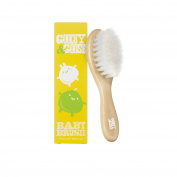 Goochy & Goose Baby Brush with Super Soft Bristles - Yellow