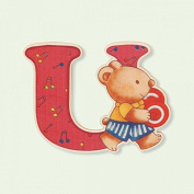 Dida - Letters U - wooden Letter to compose your baby's name and decorate the bedroom