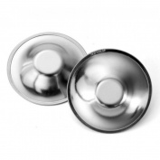 Quaranta Weeks Qs0230030 Nipple Tassels Silver Silver Natural Born Bowls For Feeding, Silver