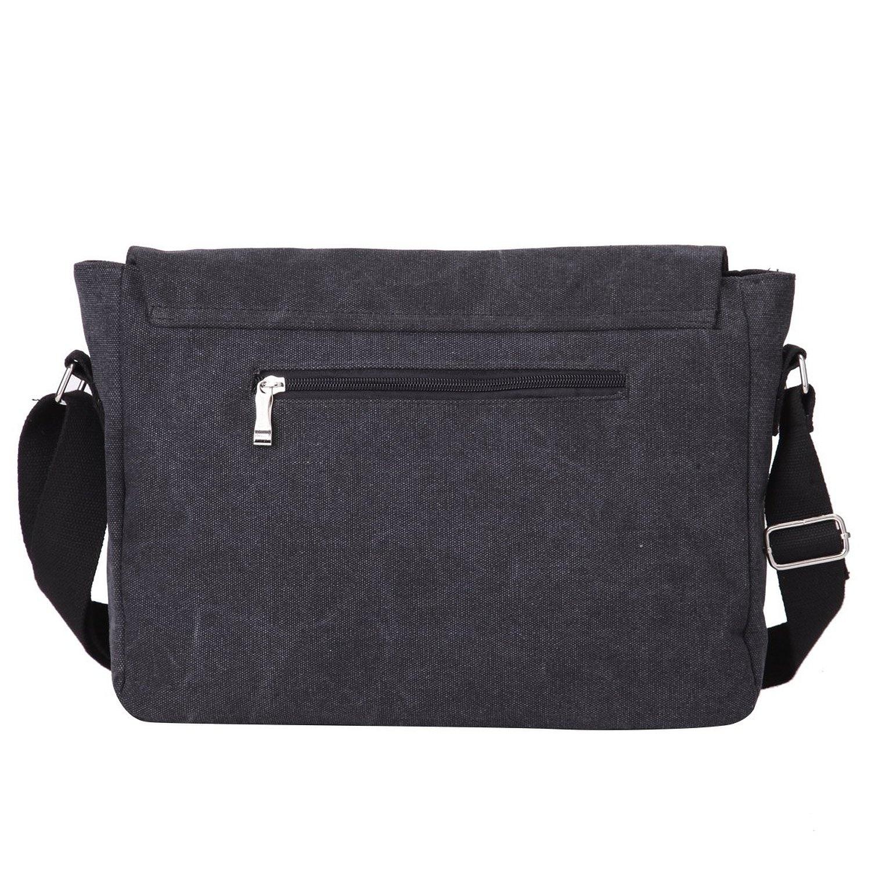 3536ea057982 Eshow Men's Shoulder Bag Messenger Bag for Men Canvas Crossbody Bag for  Business Work Daily Use