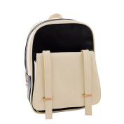 YIJI Women's Daily Use Colour-Matching Strong Backpack