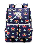 Keshi Canvas Cute Most Durable Packable Handy Lightweight Travel Backpack Daypack
