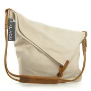 Women Crossbody Bag, P.KU.VDSL Large Canvas Cross Body Bag, Casual Hobo Tote Bag for Travel School Shopping