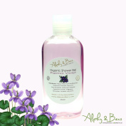 Alphy & Becs - Organic Shower Gel - Parma Violet - 250ml.