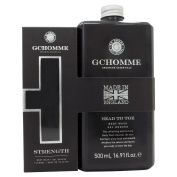 Grace Cole Homme Strength Grooming Essentials 2-Piece Gift Set for Men