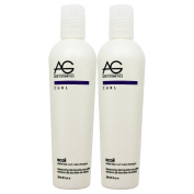 """AG Hair Recoil Shampoo Sulphate-Free Curl Care Shampoo 240ml """"Pack of 5.1cm by AG Hair Cosmetics"""