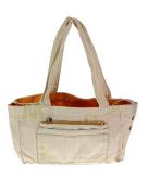 Mandarina Duck Women's Shopping Tote Bag White Natural/V2T04984