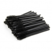 Welshow 50 pcs Disposable Eyelash Brush Mascara Wand Applicator for Eyelash Extension
