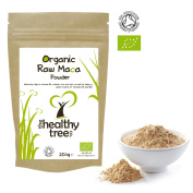 Organic Maca Powder - High in Vitamins B1, B2, B6, Calcium, Iron and Zinc - UK Certified Pure Maca Powder by TheHealthyTree Company
