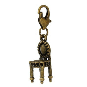 Ladies / 22052 / Charm Trailer For Bracelet bronze Chair 38x9mm
