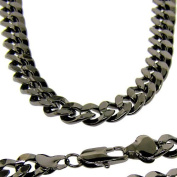 Men's Luxury 18ct Gold Plated 10mm Bling Solid Chunky Curb Chain Necklace