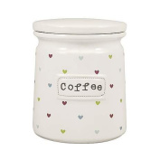 Sweethearts Coffee Canister
