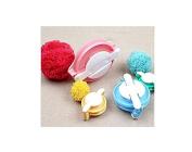 4 Sizes of Pompom Maker Fluff Ball Weaver DIY Knitting Craft Tool Kit
