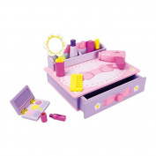 """Legler """"Ribbon"""" Make-Up Table Kitchen and Food Toy"""