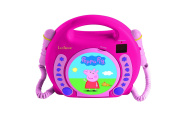 Lexibook RCDK100PP Peppa Pig Karaoke Cd Player