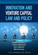 Innovation and Venture Capital Law and Policy
