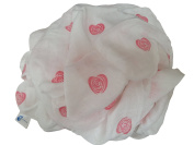 Award Winning Bamboo Muslin Swaddle Blanket (XL) for Boys & Girls by Easy Mom & Baby