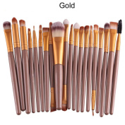20 pcs/set Make-up Toiletry Kit Wool Brush, Feitong Makeup Brush Set tools