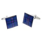 Spirit of Scotland Tartan Cufflinks