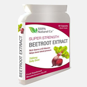 Beetroot Capsules 100% Natural Co Super Strength Extract