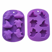 Yunko Easter Ghost Soap Muffin Cake Cookies Silicone Mould Party Maker Baking Tray