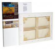 Masterpiece Vincent PRO 2.2cm Deep, 15cm x 60cm , Monterey 210ml Acrylic Primed Cotton Canvas