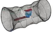 Fladen Shrimp Trap Cylinder - UK Model - Otter Friendly
