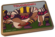 TOUCHDOWN! - the Quikky American Football game in a slim-line hinged tin