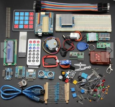 Deluxe Uno R3 Basic Kit Starter Learning Kit For Arduino
